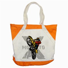 Moto X Wheelie Accent Tote Bag
