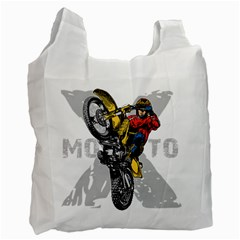 Moto X Wheelie Recycle Bag (Two Side)