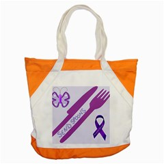 Send Spoons Accent Tote Bag