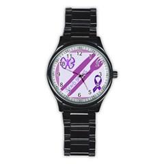 Send Spoons Sport Metal Watch (Black)