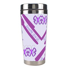 Send Spoons Stainless Steel Travel Tumbler