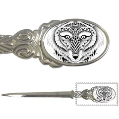 Ornate Foxy Wolf Letter Opener