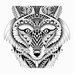 Ornate Foxy Wolf Canvas 20  x 24  (Unframed)