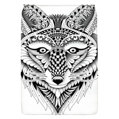 Ornate Foxy Wolf Removable Flap Cover (Small)