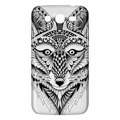 Ornate Foxy Wolf Samsung Galaxy Mega 5.8 I9152 Hardshell Case