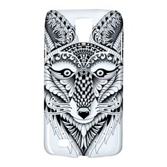 Ornate Foxy Wolf Samsung Galaxy S4 Active (I9295) Hardshell Case
