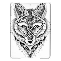 Ornate Foxy Wolf Apple iPad Air Hardshell Case