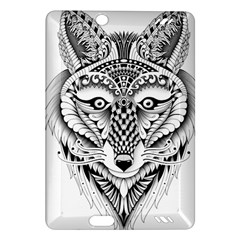 Ornate Foxy Wolf Kindle Fire HD 7  (2nd Gen) Hardshell Case