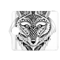 Ornate Foxy Wolf Kindle Fire Hdx 8 9  Flip 360 Case