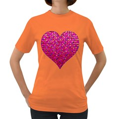 Polka Dot Sparkley Jewels 1 Women s T-shirt (Colored)