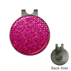 Polka Dot Sparkley Jewels 1 Hat Clip With Golf Ball Marker