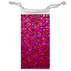 Polka Dot Sparkley Jewels 1 Jewelry Bag