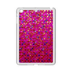 Polka Dot Sparkley Jewels 1 Apple Ipad Mini 2 Case (white)
