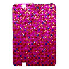 Polka Dot Sparkley Jewels 1 Kindle Fire HD 8.9  Hardshell Case