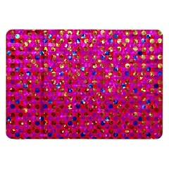 Polka Dot Sparkley Jewels 1 Samsung Galaxy Tab 8 9  P7300 Flip Case