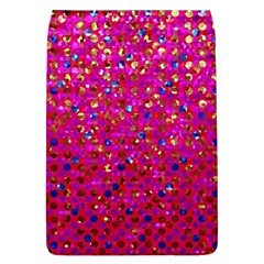 Polka Dot Sparkley Jewels 1 Removable Flap Cover (Large)