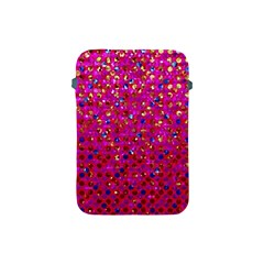 Polka Dot Sparkley Jewels 1 Apple Ipad Mini Protective Sleeve