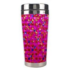 Polka Dot Sparkley Jewels 1 Stainless Steel Travel Tumbler