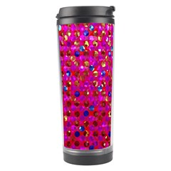 Polka Dot Sparkley Jewels 1 Travel Tumbler