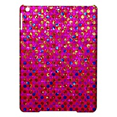 Polka Dot Sparkley Jewels 1 Apple iPad Air Hardshell Case