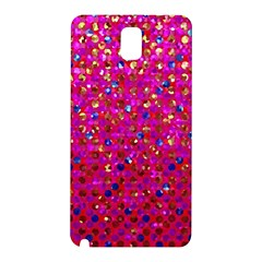 Polka Dot Sparkley Jewels 1 Samsung Galaxy Note 3 N9005 Hardshell Back Case