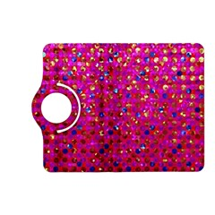 Polka Dot Sparkley Jewels 1 Kindle Fire HD 7  (2nd Gen) Flip 360 Case