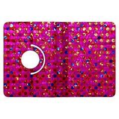 Polka Dot Sparkley Jewels 1 Kindle Fire Hdx 7  Flip 360 Case