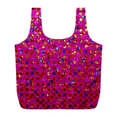 Polka Dot Sparkley Jewels 1 Reusable Bag (L)