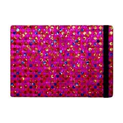 Polka Dot Sparkley Jewels 1 Apple iPad Mini 2 Flip Case