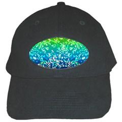 Glitter 4 Black Baseball Cap