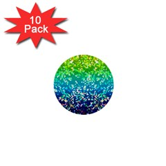 Glitter 4 1  Mini Button (10 pack)