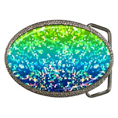 Glitter 4 Belt Buckle (Oval)