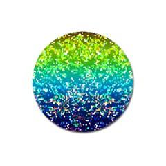 Glitter 4 Magnet 3  (Round)