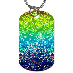 Glitter 4 Dog Tag (two Sided)