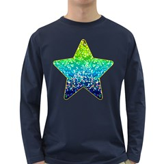Glitter 4 Men s Long Sleeve T-shirt (Dark Colored)