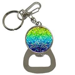 Glitter 4 Bottle Opener Key Chain