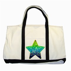 Glitter 4 Two Toned Tote Bag