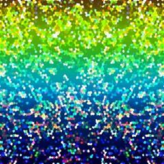 Glitter 4 Canvas 16  x 16  (Unframed)