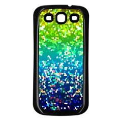Glitter 4 Samsung Galaxy S3 Back Case (black)