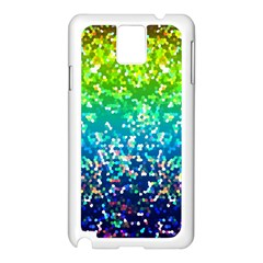 Glitter 4 Samsung Galaxy Note 3 N9005 Case (White)