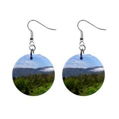 Newfoundland Mini Button Earrings