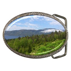 Newfoundland Belt Buckle (oval)