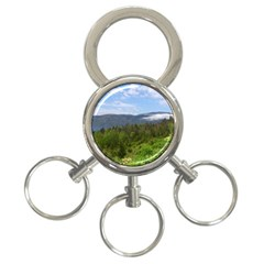 Newfoundland 3-Ring Key Chain