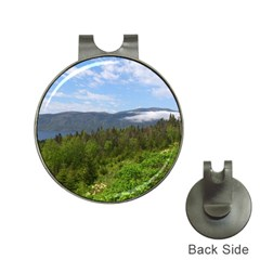 Newfoundland Hat Clip with Golf Ball Marker