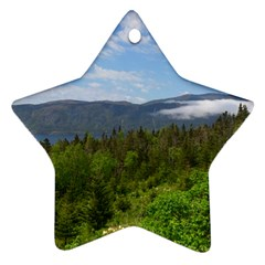 Newfoundland Star Ornament (Two Sides)