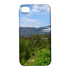 Newfoundland Apple Iphone 4/4s Hardshell Case With Stand