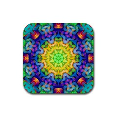 Psychedelic Abstract Drink Coaster (Square)