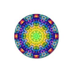 Psychedelic Abstract Magnet 3  (Round)