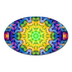 Psychedelic Abstract Magnet (Oval)