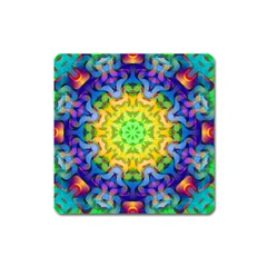 Psychedelic Abstract Magnet (Square)